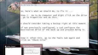 How to SOLVE - You need to Format the Disk in Drive before you can use it Error !