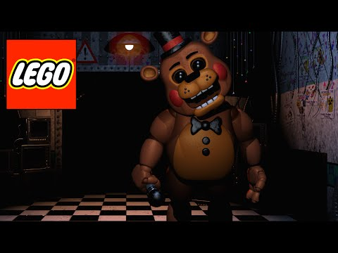 How to build LEGO characters from FNAF 2 Part 3: Toy Freddy (HD)