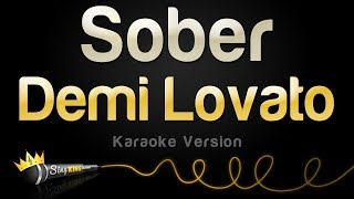 Demi Lovato - Sober (Karaoke Version)