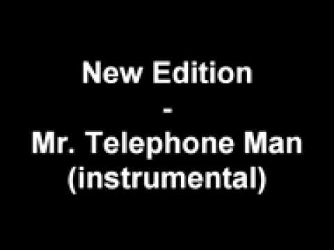 New Edition - Mr Telephone Man instrumental