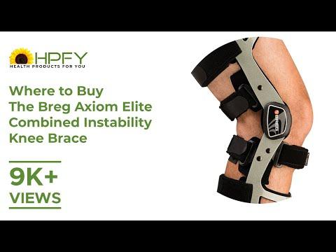Where to buy Breg Axiom Elite Combined Instability Knee Brace?