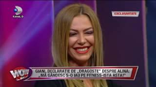WOWBIZ (09.05.2018) - Cum a pus Giani Kirita ochii pe Alina, in secret? Partea 3