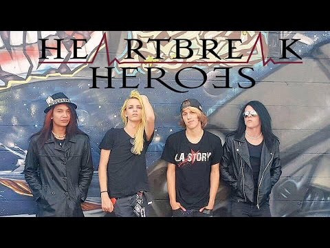 Heartbreak Heroes @ The Curtain Club in Dallas TX. on October 19th, 2016