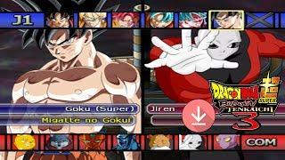 DESCARGA   ISO   Dragon Ball Super Budokai Tenkaichi 3 BETA v1