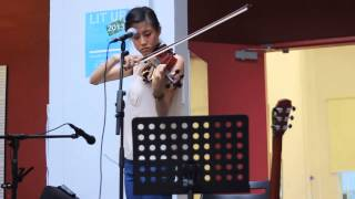 Bones - Anise (Su Hee) at Lit Up Indie Arts Festival Singapore 2013