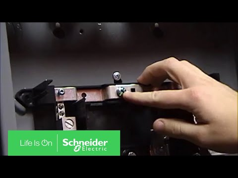 Installing Bonding Screw on Homeline Load Centers | Schneider Electric Support