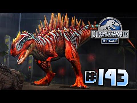 Metriacanthosaurus & Glitch!! || Jurassic World - The Game - Ep 143 HD