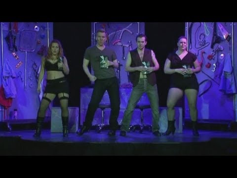 Fifty Shades of Grey gets saucy on stage with a musical parody production