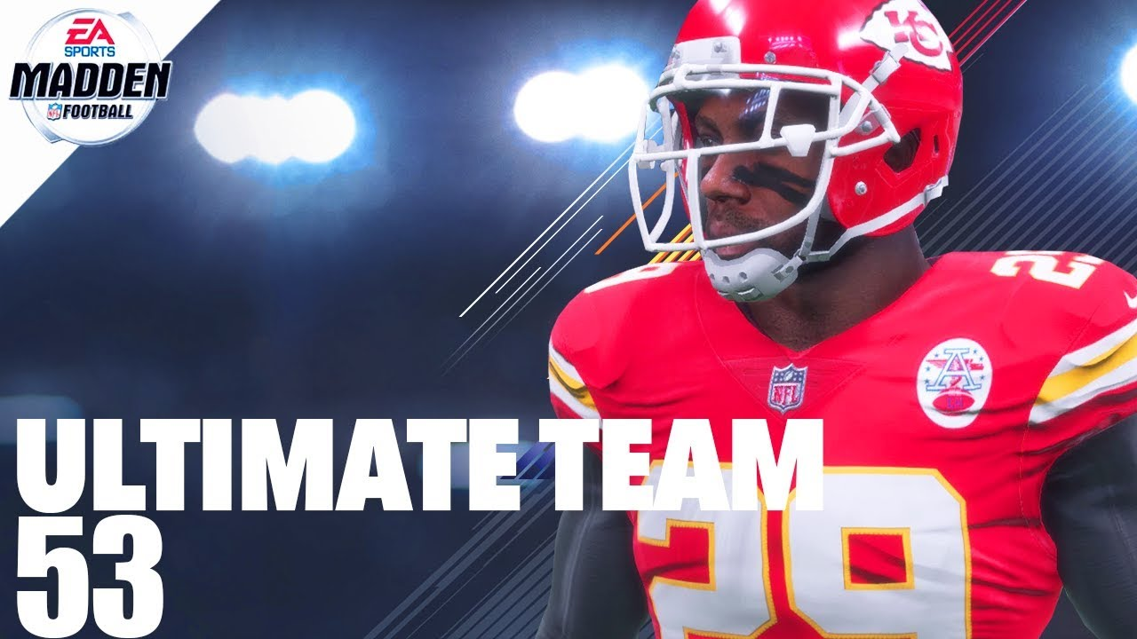 Madden 18 Ultimate Team - 99 Overall Eric Berry Ep.53