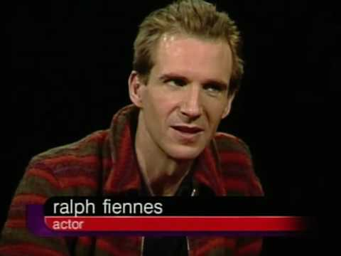 Ralph Fiennes Job İnterview On Charlie Rose 2000 & Fiennes Joseph And Sophie 1999