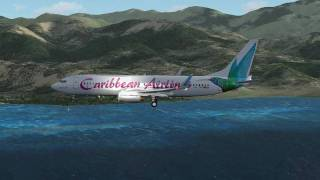FSX - Caribbean Airlines - Landings [HD]