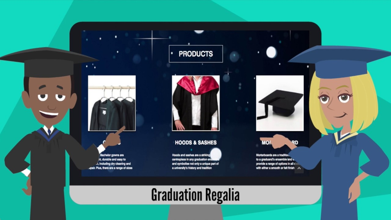 how are graduation gowns