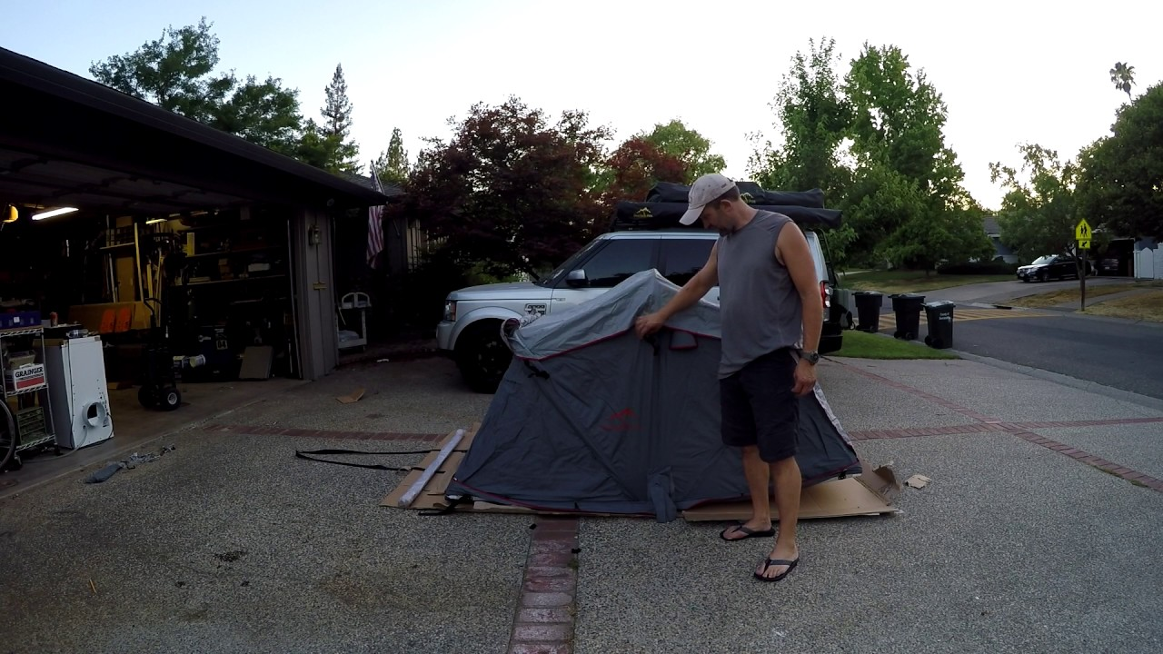 Overland Pros Anza 1400 Roof Top Tent Unboxing & Overland Pros Anza 1400 Roof Top Tent Unboxing - YouTube