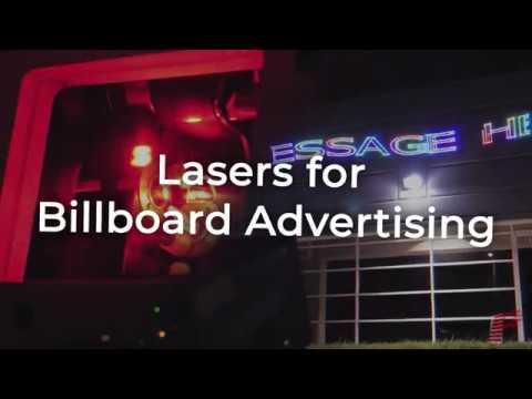 Laser Billboards | Kvant Logolas, Clubmax And LD Models