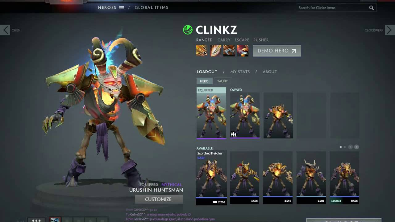dota 2 path of the rogue quest completed clinkz set review youtube