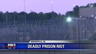 Deadly South Carolina prison riot