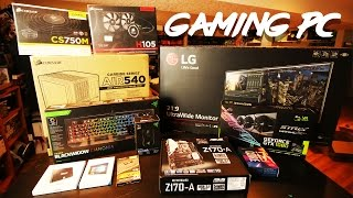 One of SeeJayAre's most viewed videos: 2016 4K Gaming PC Build - i7, GTX 1080, LG Ultrawide