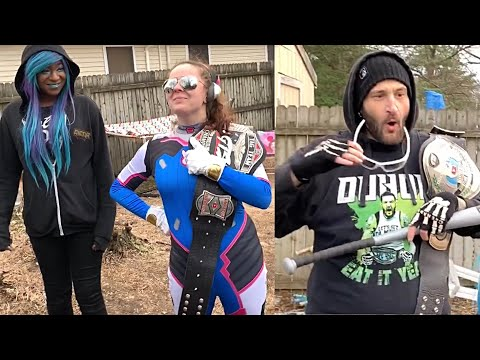 Female Super Hero Debuts In GTS - Neighbor Recording Us Over The Fence