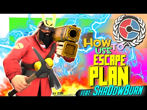 TF2: How to use escape plan #2 (feat. ShaDowBurn)