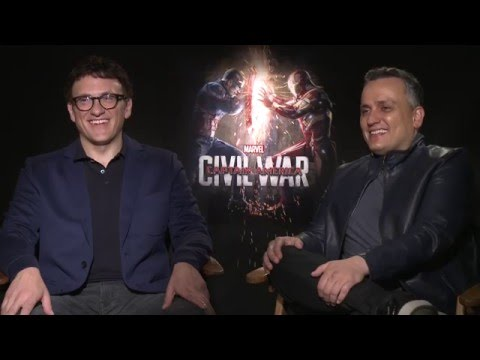 CAPTAIN AMERICA CIVIL WAR: Anthony & Joe Russo Talk About Working With Siblings