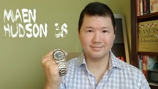 MAEN Hudson: Swiss Made | Good as Omega Spectre?