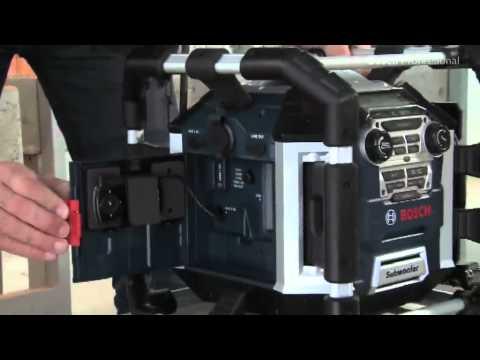 Видео обзор: Радио-зарядное BOSCH GML 50