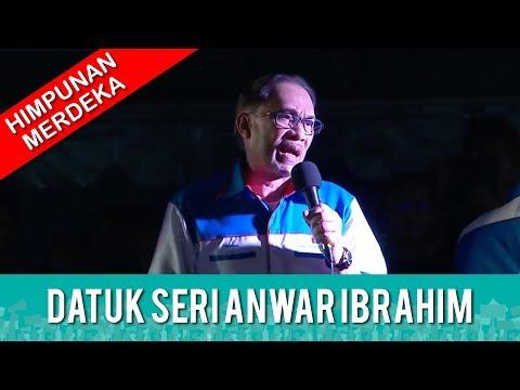 TERKINI: HIMPUNAN MERDEKA RAKYAT - Datuk Seri Anwar Ibrahim | Rabu 16 Mei 2018