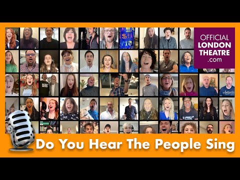 70 West End stars perform Les Misérables' Do You Hear The People Sing