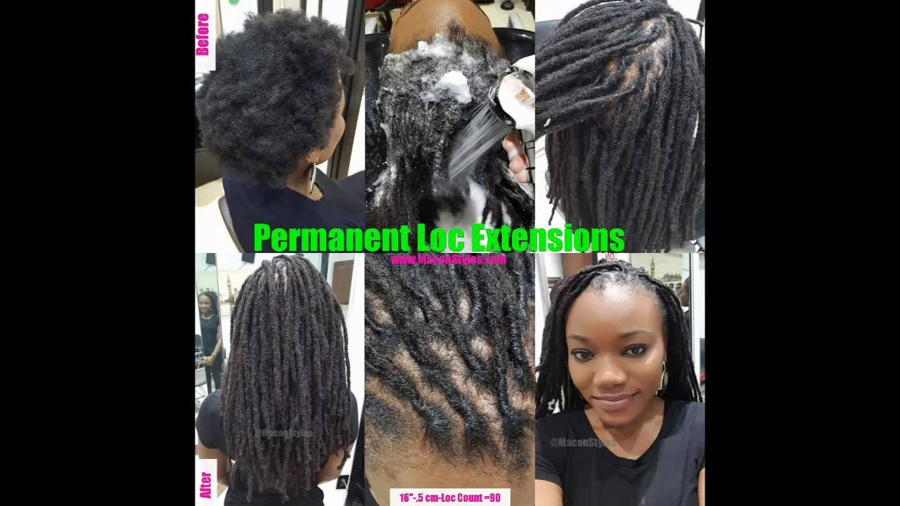 16 Permanent Loc Extensions No Wrap Look Youtube
