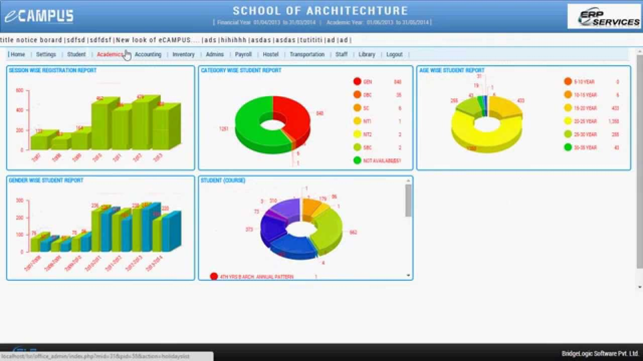how to create school management software