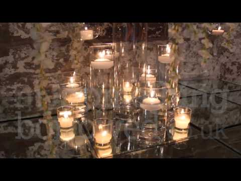 Candlelit Wisteria venue styling