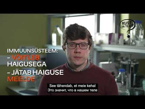 Erik Abner - Mis on loomulik immuunsus?