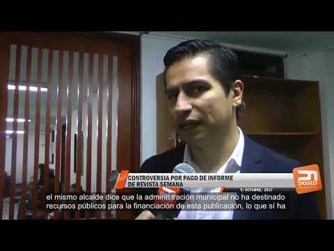 CONTROVERSIA POR PAGO DE INFORME DE REVISTA SEMANA