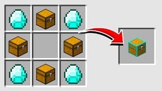 Minecraft : HOW TO CREATE A SECRET CHEST (NO MODS) (Ps3/Xbox360/PS4/XboxOne/PE/MCPE)