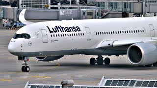 SPRING PLANE SPOTTING at MUNICH AIRPORT (MUC) | A350, A340, A330, 787 + more | 2017