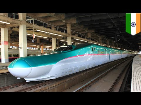 India bullet train: India starts work on its first Japanese high speed rail line - TomoNews