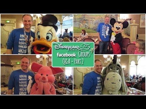 Disneyland Paris Facebook Group's Q&A - Part 2