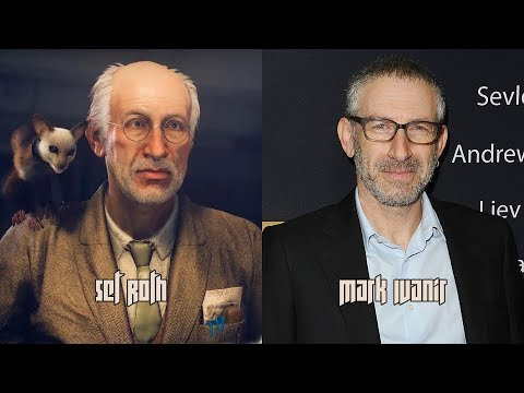 Wolfenstein II: The New Colossus  Characters and Voice Actors