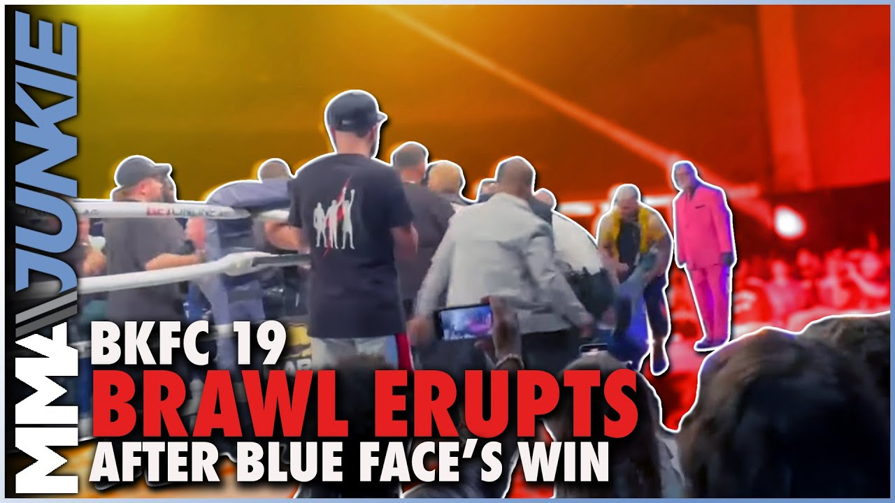 Video Shows Blueface Punch Fan After His BKFC 19 Win Over ...