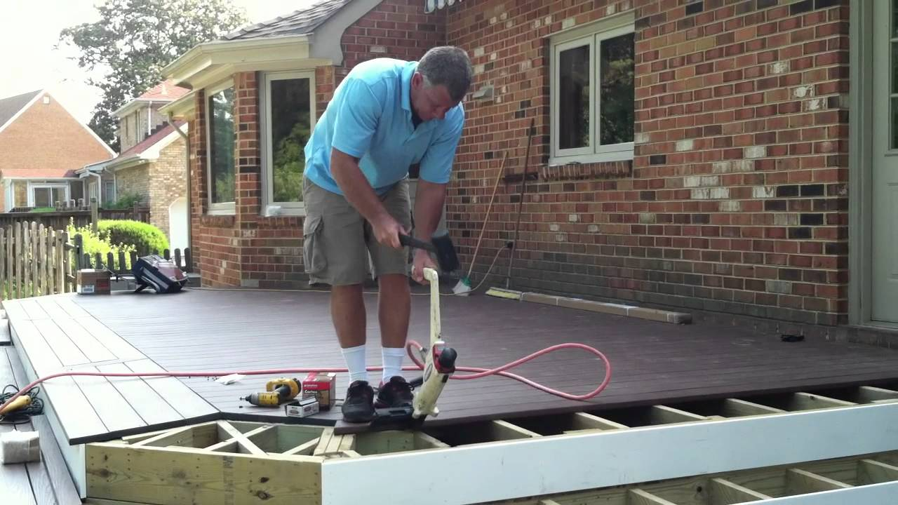 Wolf Decking Installed with Cortex Plugs and Hid-fast ...