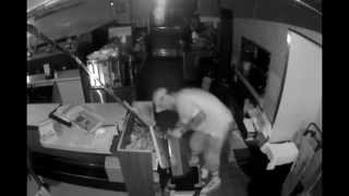 Man Attempts To Rob Restaurant of Their Main Register & Fails(http://www.vladtv.com - A peculiar surveillance tape came out of a Philly Mrs. K's recently, as a man was spotted attempting to rob the restaurant of their main ..., 2015-06-25T15:31:12.000Z)