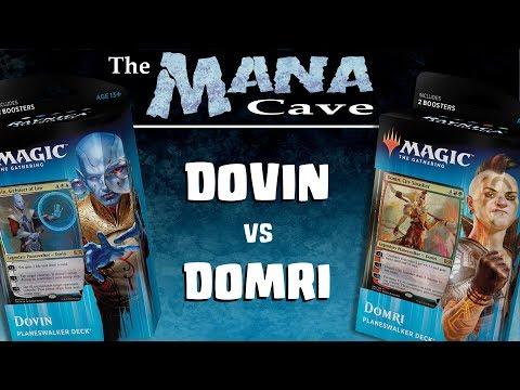 "MTG - Dovin vs Domri : Planeswalker Deck Showdown! - ""The Mana Cave"" (Ep.111)"