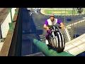 BIKE PARKOUR RACE & WORSTENPRAAT - GTA 5 Online Funny Moments