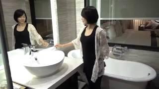 泰國曼谷阿特飯店Arte Hotel 智慧發光鏡(?)