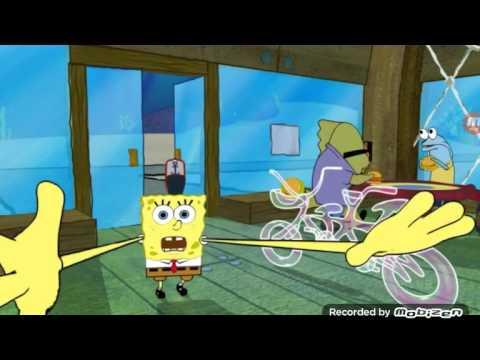 I am riding The SpongeBob SquarePants 4D ride