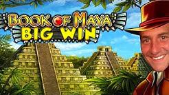 BIG WIN!!!! Book of Maya big win - Casino - Bonus round (Casino Slots) From Live Stream