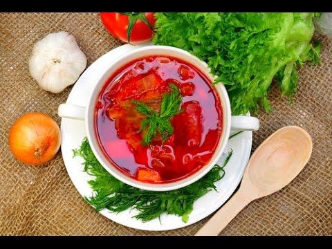 рецепт приготовления самого вкусного красного борща