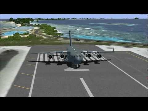 Virtavia C-17 Marshall Islands to Antarctica (P3D)
