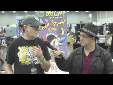Indie Corner TV: Episode 6 Bob Camp Co Creator of Ren and Stimpy  2016