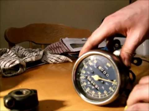 Motorcycle Speedometer Components How A Speedometer Works